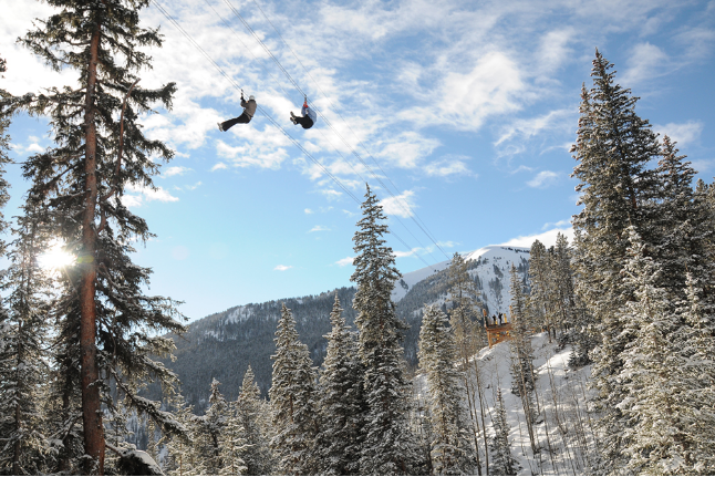 Breckenridge Winter Zip Line Tour